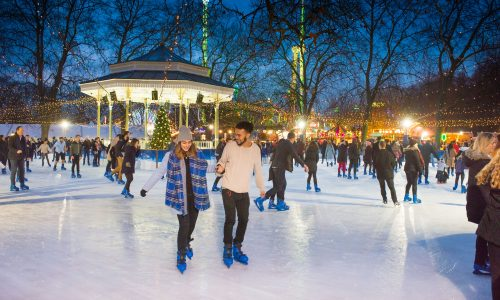 Where to go ice skating in london this christmas kensington mums the uks largest outdoor ice rink at winter wonderland solutioingenieria Images