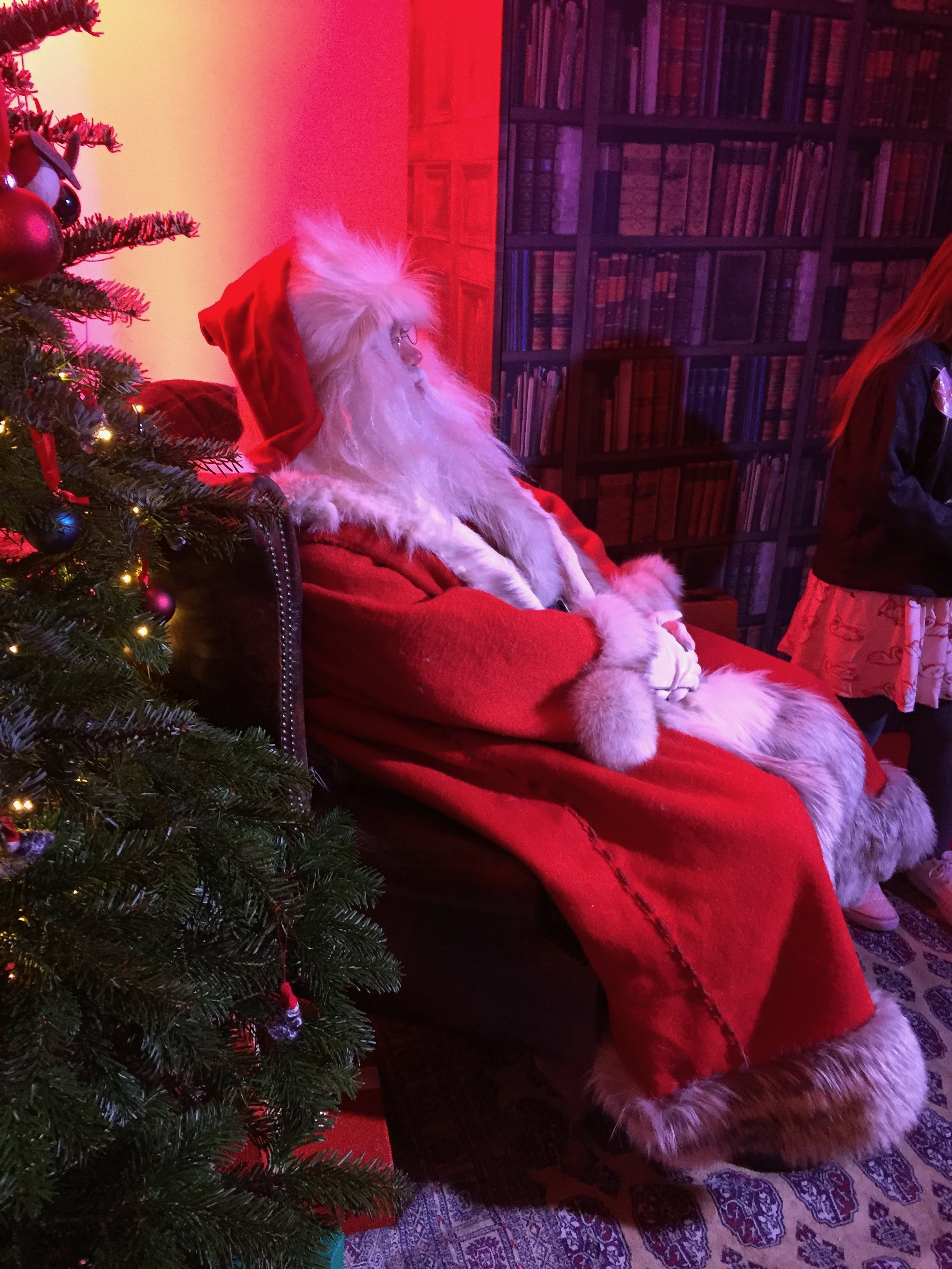 Father Christmas in Belgravia