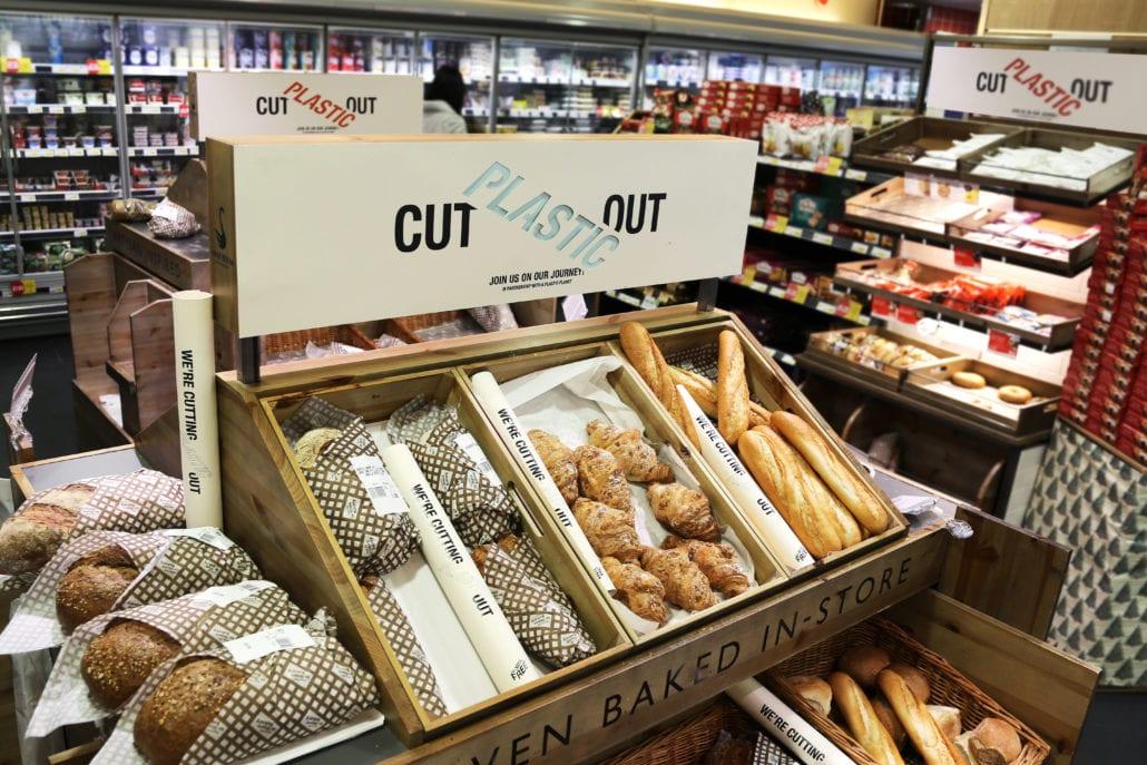 plastic free supermarket London