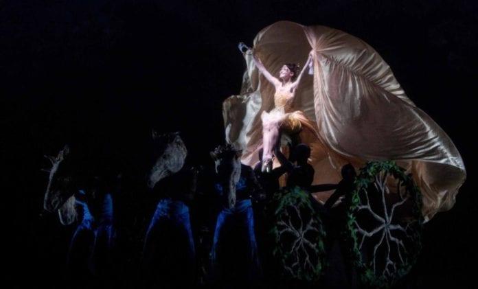 Cinderella ballet performed at the Royal Albert Hall