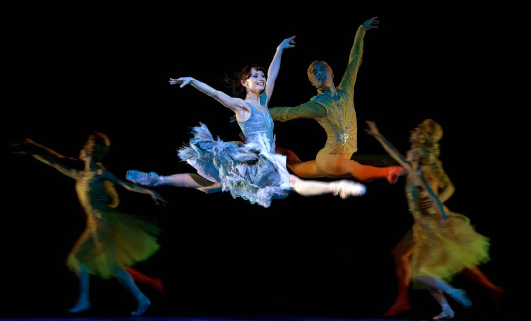 Cinderella ballet performed at the Royal Albert Hall