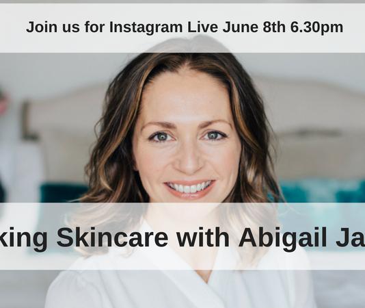 celebrity facialist Abigail James
