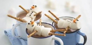 Festive Recipe Hot Chocolate Recipe Snowmen
