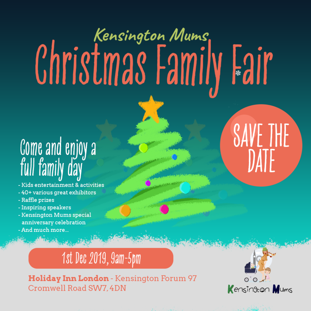 Christmas Date.Kensington Mums Family Christmas Fair 2019 Kensington Mums