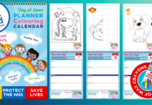 New Colouring Book Draws Funds for NHS